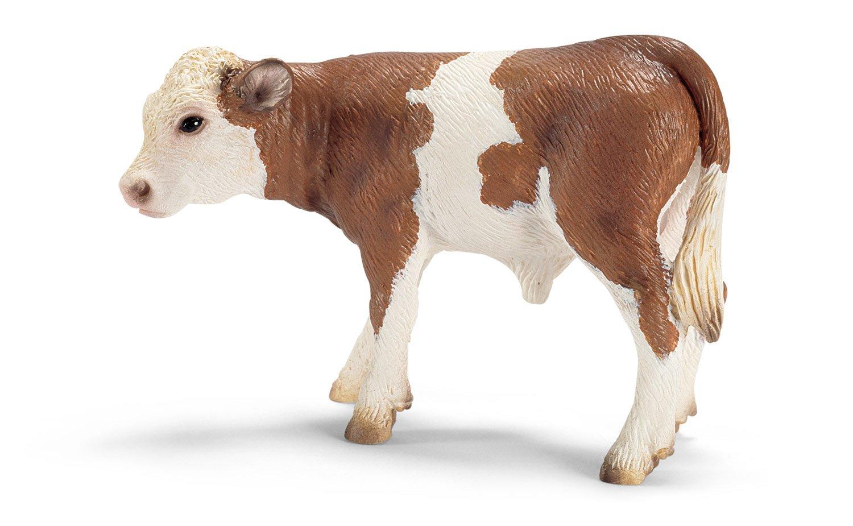schleich 思乐 动物模型 德系西门塔尔小牛13642