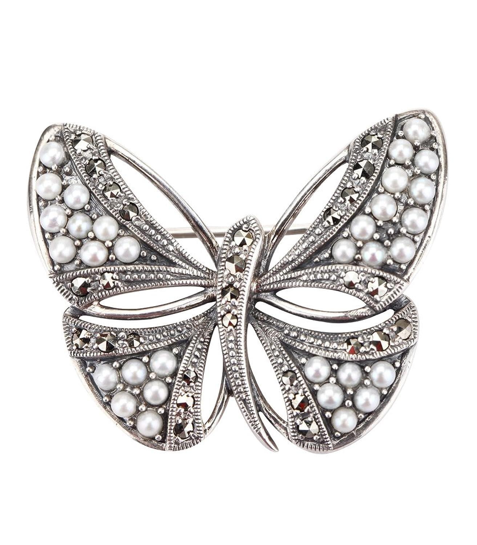 珍珠胸针制作