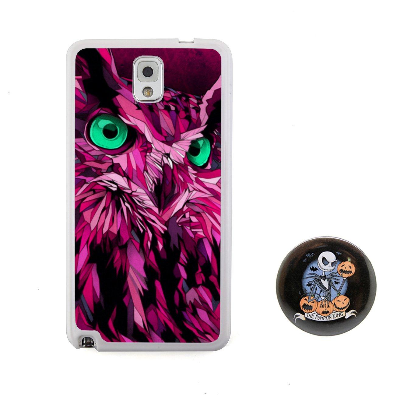 猫头鹰 3d动物图案浮雕设计风格 塑料 tpu手机壳 手机
