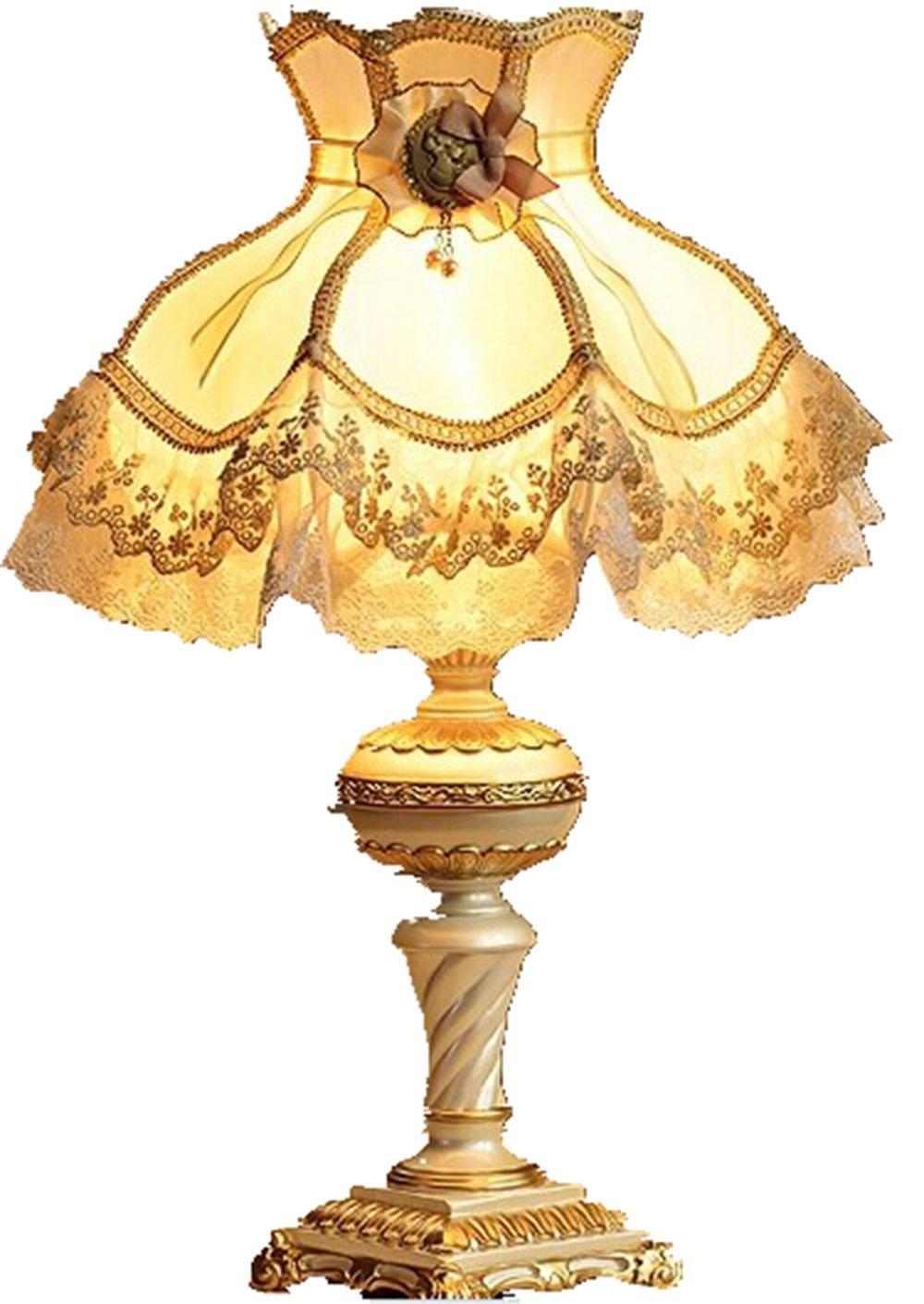 最尚 欧式台灯 公主田园奢华卧室床头婚庆装饰灯 家居