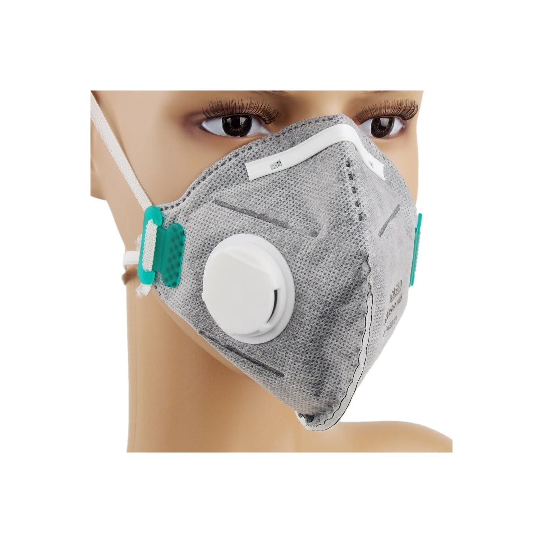 MASkin 828510 活性炭+呼气阀 折叠型防护口罩10只装¥49