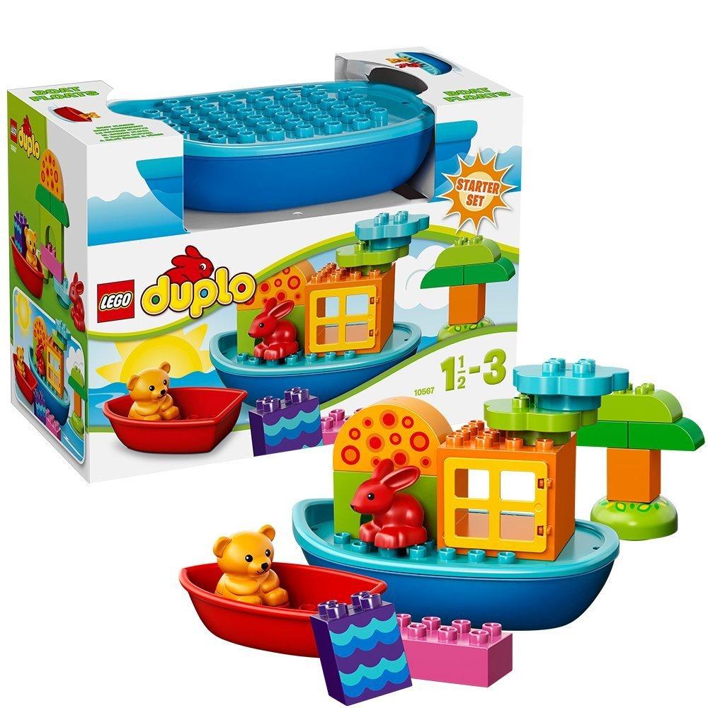 乐高 儿童益智拼装积木玩具得宝系列创意小船组