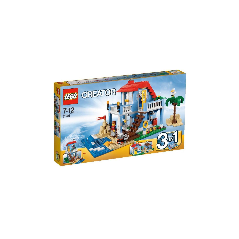 LEGO乐高7346创意百变组 海滨房屋¥291,送79元的百变组