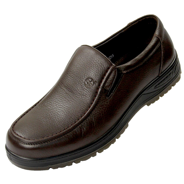 红蜻蜓男鞋 2012新款男士休闲皮鞋