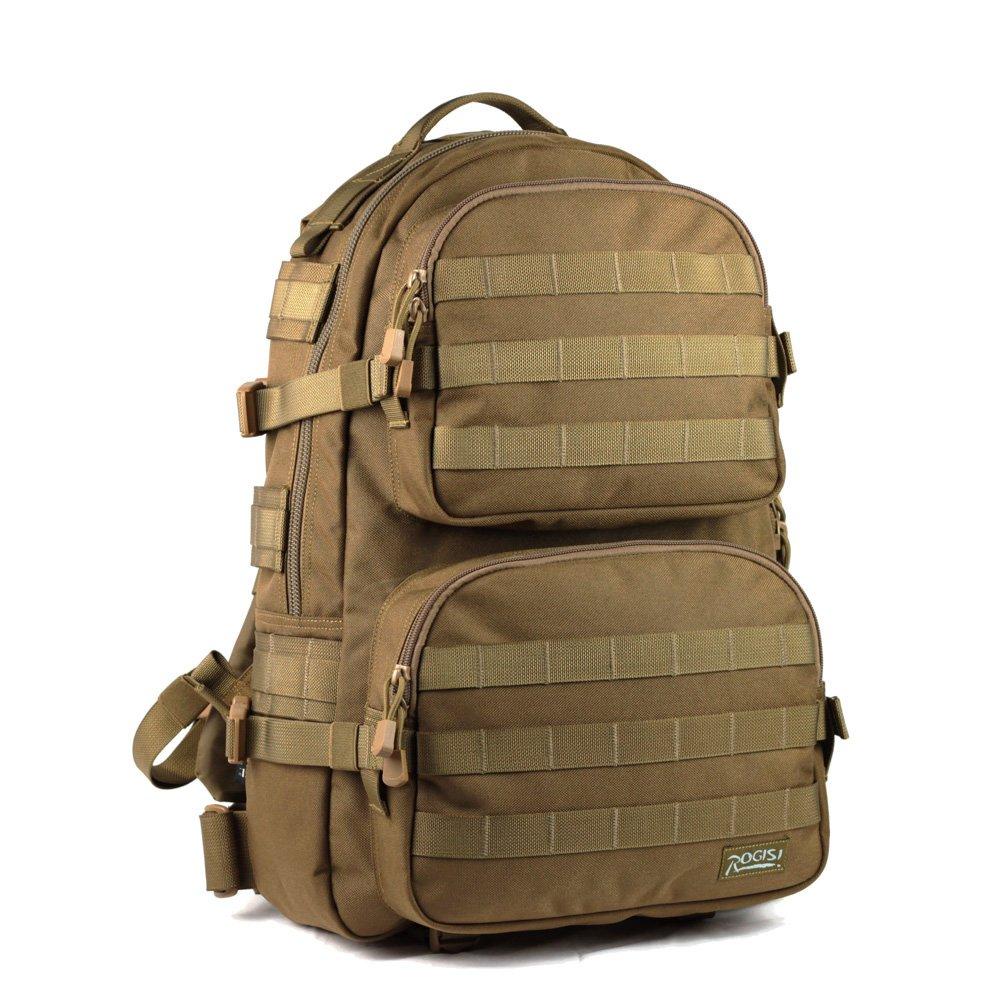 rogisi 新款野营徒步背包 户外双肩包 军迷背包 双肩电脑包 10r27-cb
