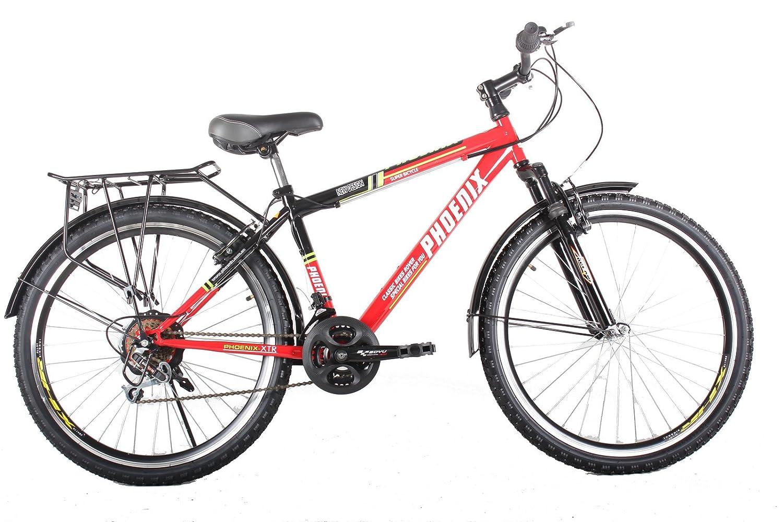 凤凰自行车26组装图解