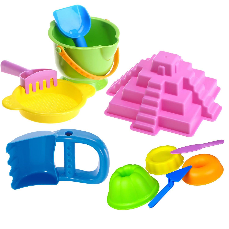 沙滩套装(冒险小套 面包师 挖沙手 玛雅金字塔)大号玩沙挖沙玩水工具