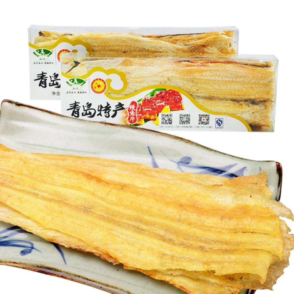 鳗鱼片90g青岛特产海鲜干货