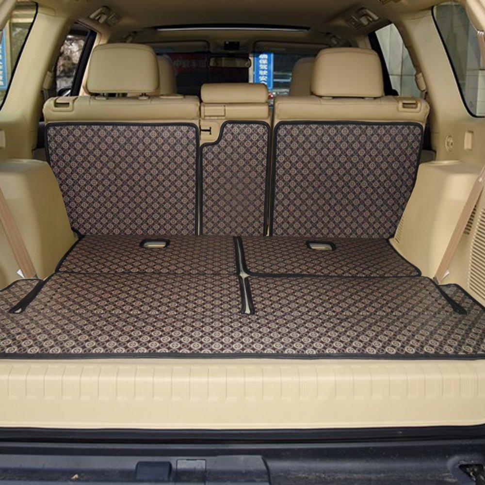胶霸 丰田普拉多后备箱垫7座专用 霸道4000汽车尾箱垫