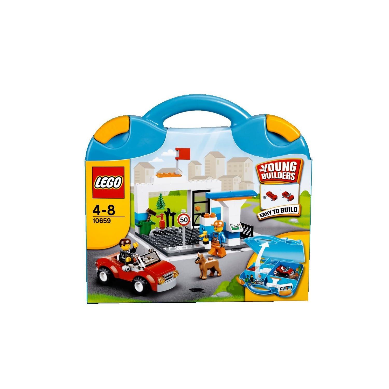LEGO乐高 基础创意拼砌系列 10659 蓝色手提箱¥179,凑单199送79基础款