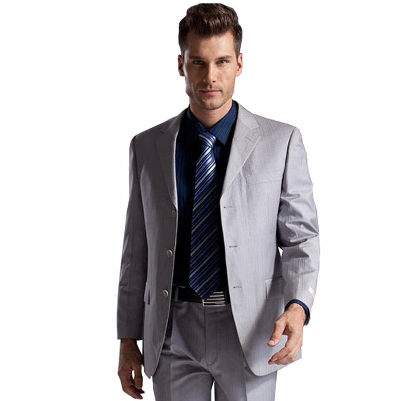 Seven 柒牌 柒系列 男式 西服套装 79C149000   399元(用码后299元包邮)