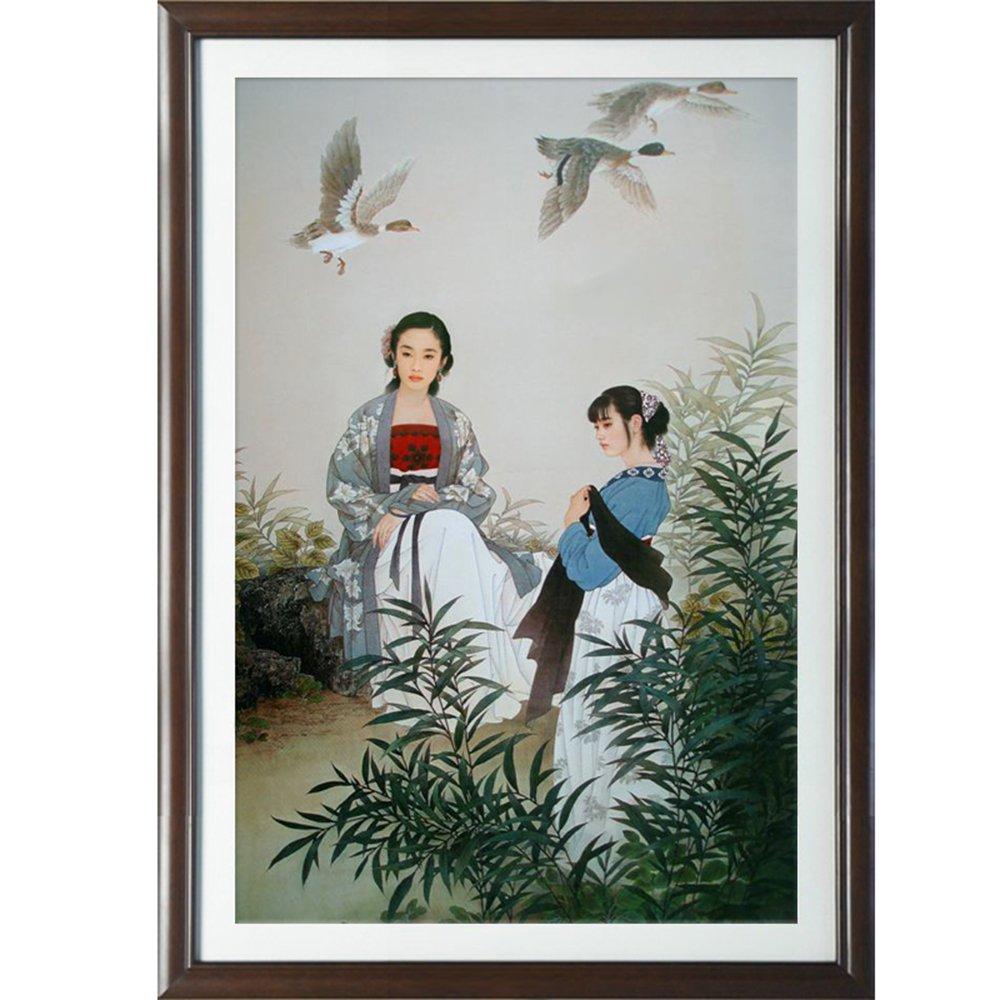 新中式壁画办公室挂画水墨画