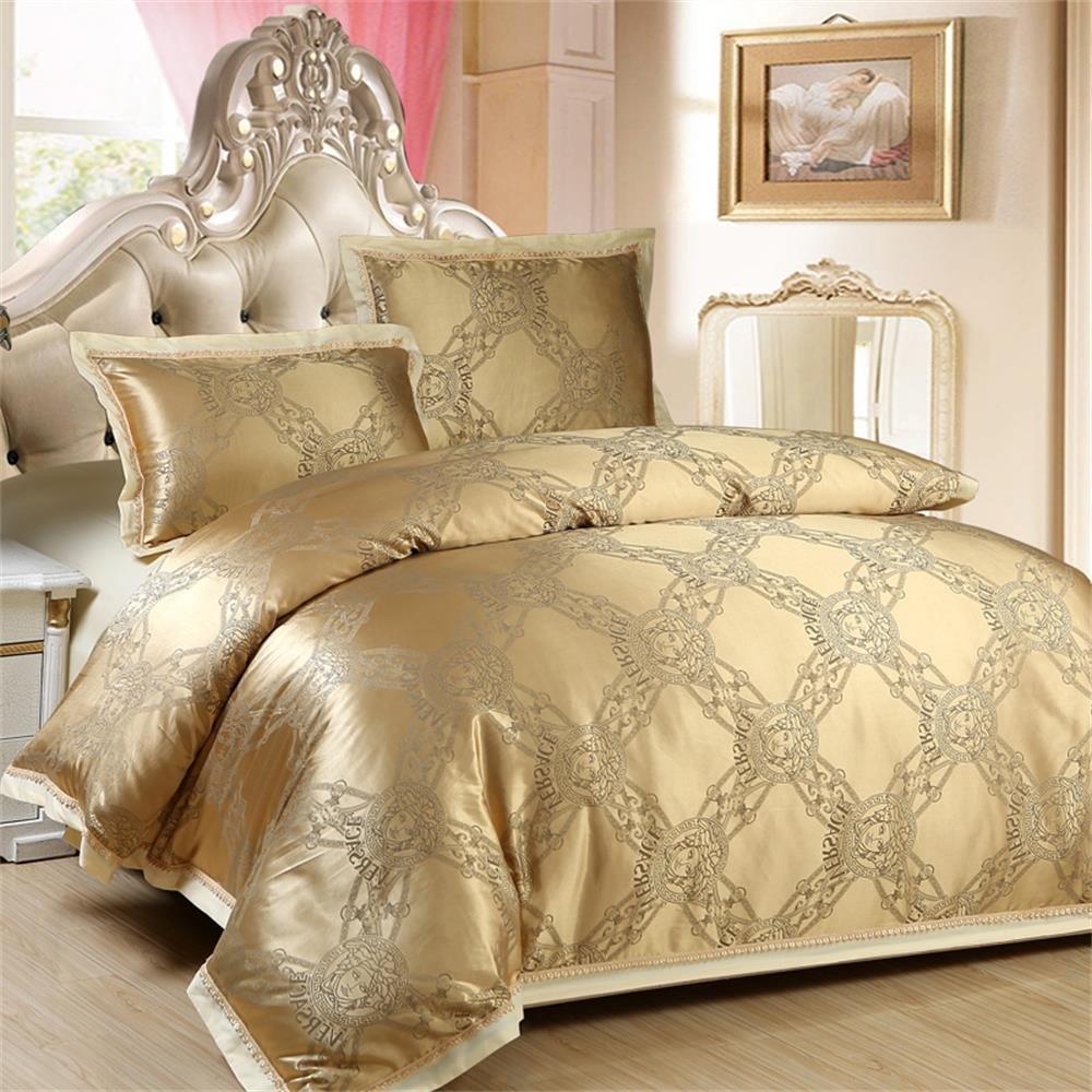 人人爱 床上用品 欧式天丝 贡缎 提花 丝棉 贡缎 大提花 刺绣镂空