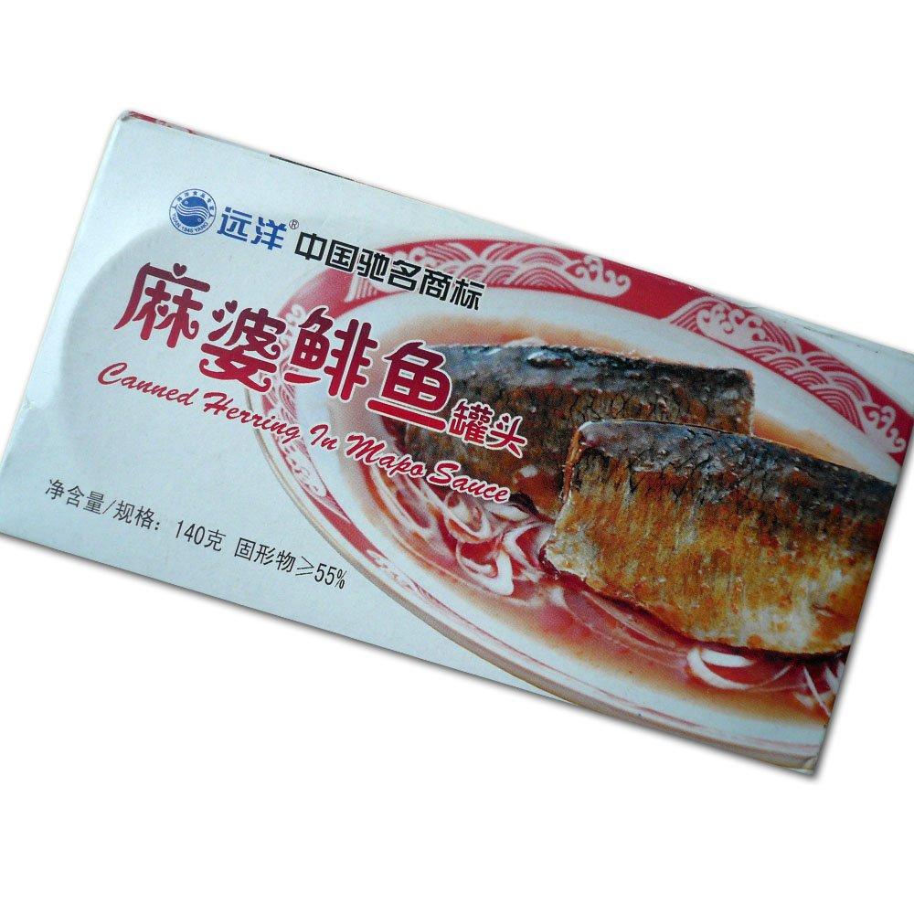 麻婆鲱鱼罐头140g