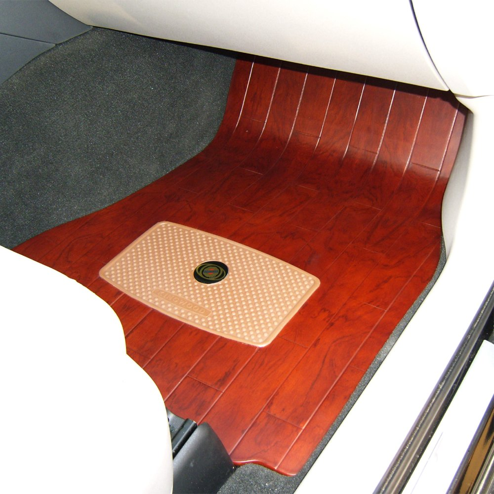 金木创世 汽车木地板 花梨木红色 克莱斯勒系列专车专用脚垫