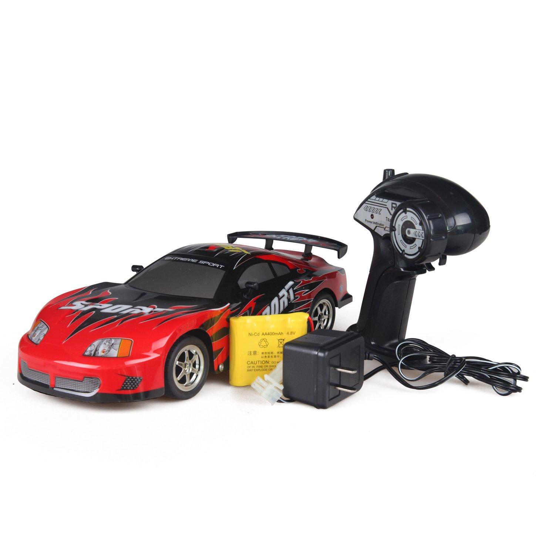 环奇儿童遥控车 遥控汽车 高速电车 赛车玩具 遥控赛车 玩具车 (红
