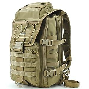 MaxGear 马盖先 X7战术电脑背包 0715 卡其色  399元(双重优惠低至 286.75元)