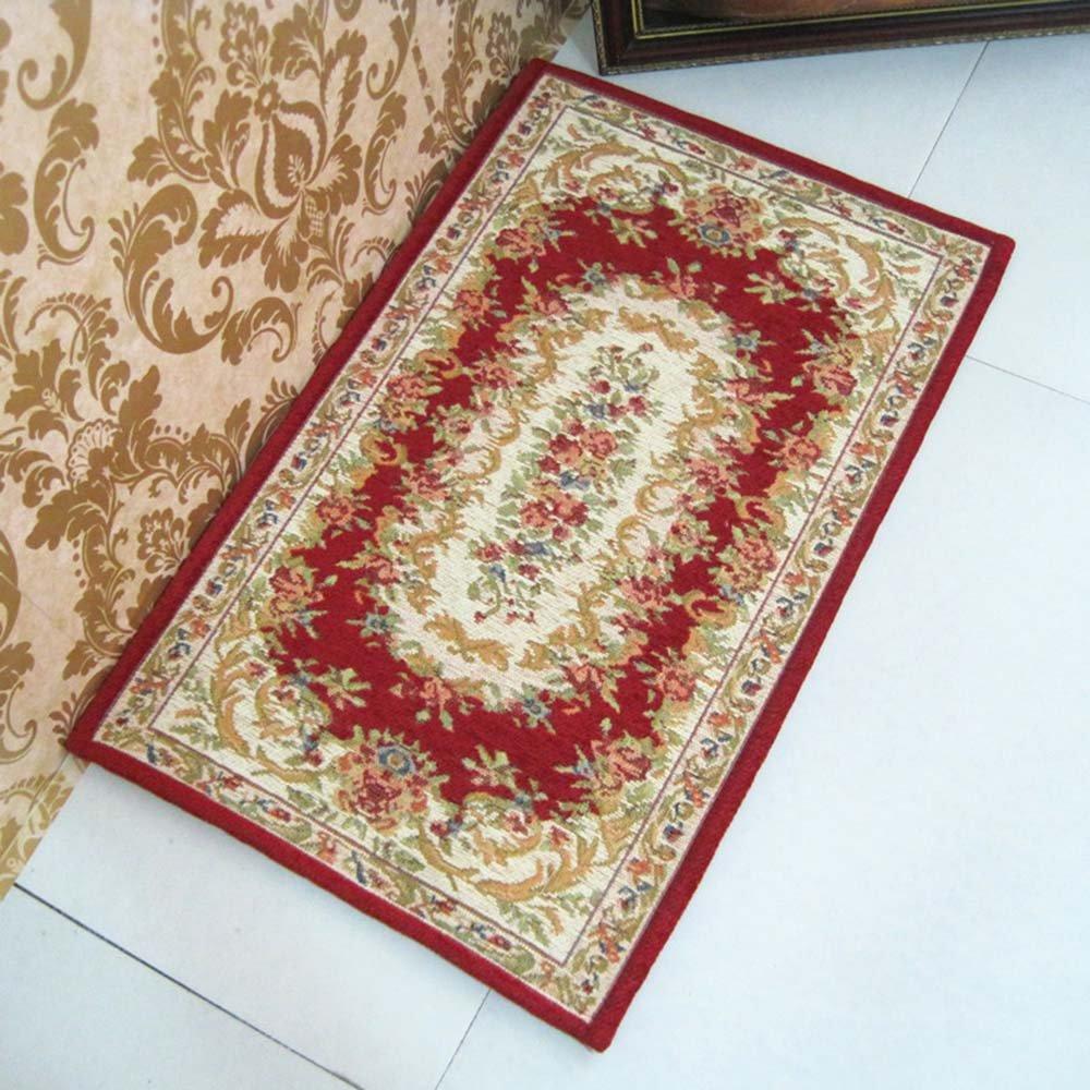 朵忆姿 欧式奢华田园地垫 地毯 防滑垫进门地垫入户门