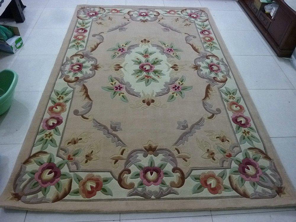 中式古典风格羊毛地毯图片