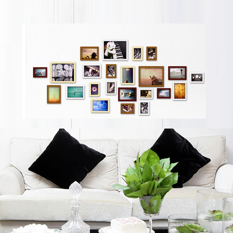 照片墙 23相框 首佳 75元包邮 环保实木(Z秒杀135,用码减60)