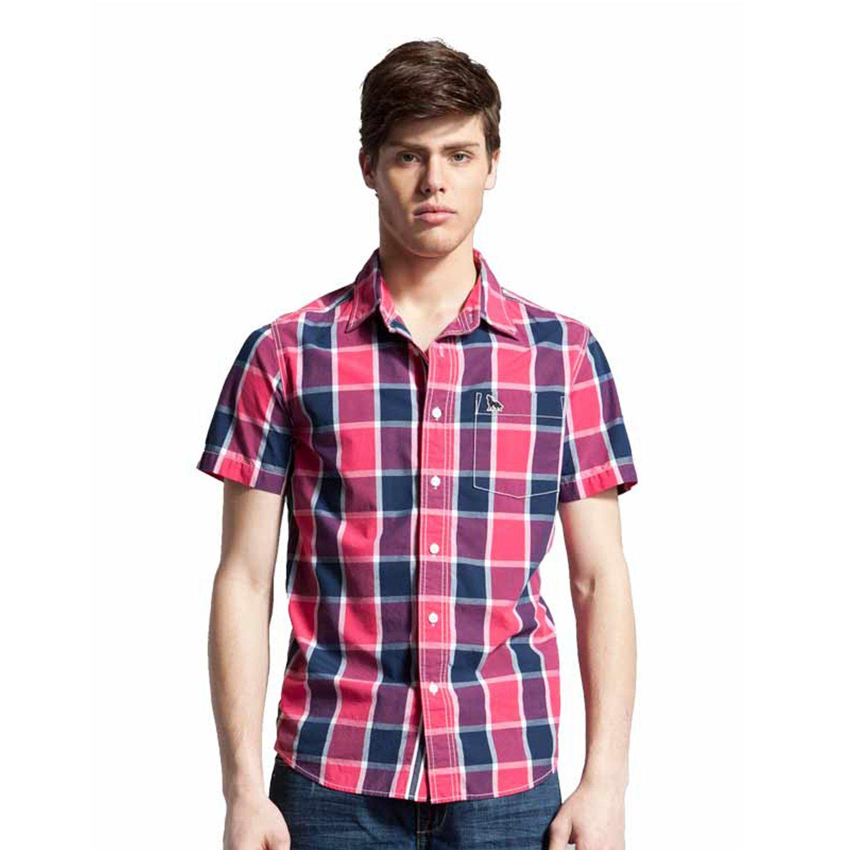 七匹狼 男式 短袖衬衫