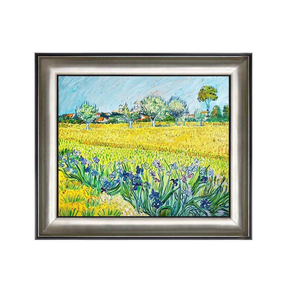丹青在线 纯手绘油画 客厅装饰画 有框画 挂画 《盛开