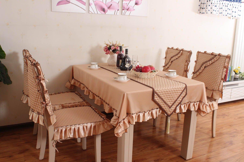 yuanwuqu圆舞曲 坐垫椅垫布艺餐桌椅垫椅子垫欧式餐椅垫餐椅套桌布图片