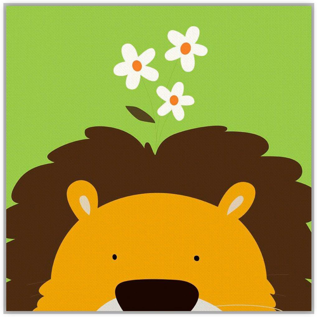 可爱动物儿童图画