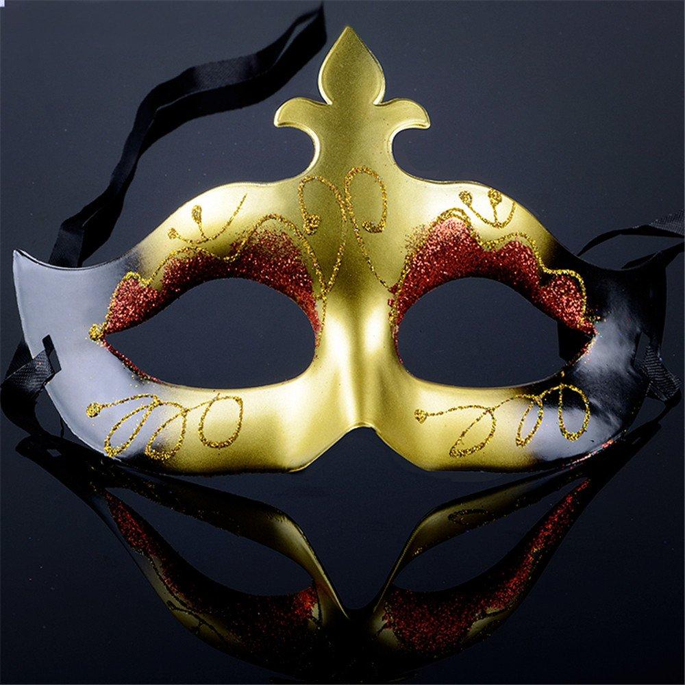 partyshow 派对秀 派对女神炫彩面具 威尼斯半脸面具