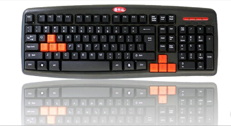 笔记本键盘不能用_微森a6键盘 游戏键盘 usb键盘 防水键盘 台式机 笔记本键盘游戏,办公