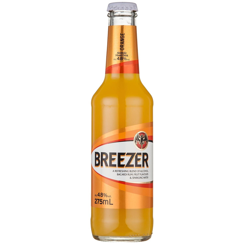 Breezer百加得冰锐朗姆预调酒 橙味275ml