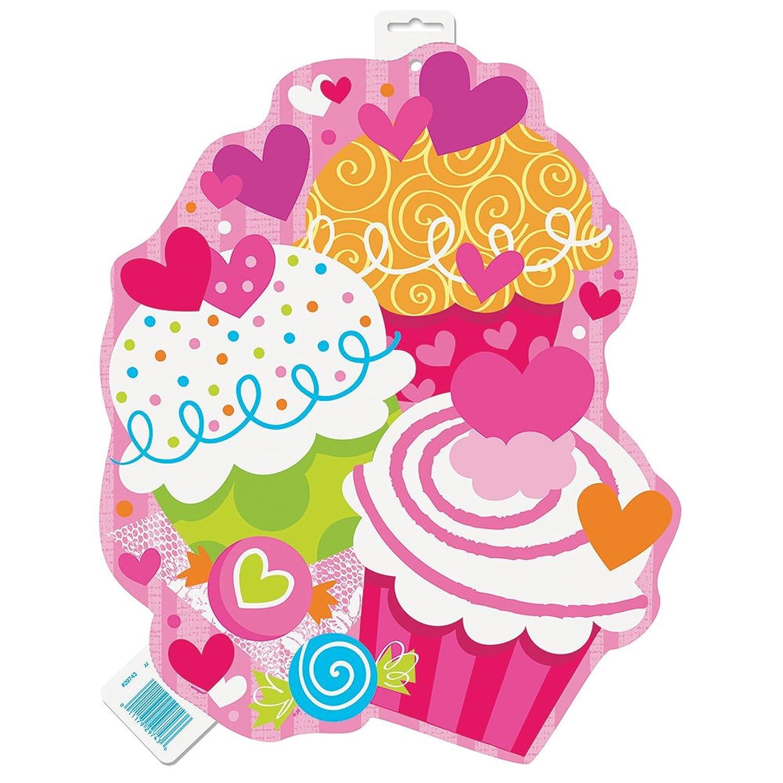 粉色花环卡通少女