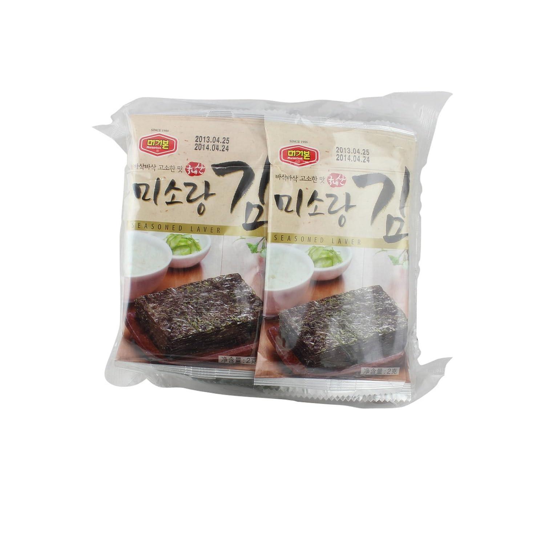 Murgerbon美极棒海苔(2g*10)20g(韩国进口) ¥15,买一送一
