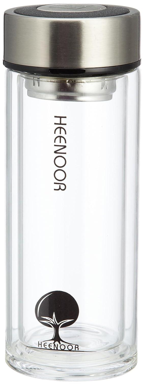 希诺xn-6701 礼盒双层玻璃保温杯(带茶隔)265ml