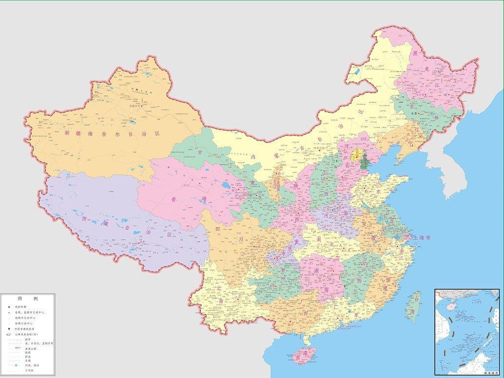 迈科 世界地图 中国地图 墙纸 床头电视 背景墙 定制壁画 墙纸52 zg02