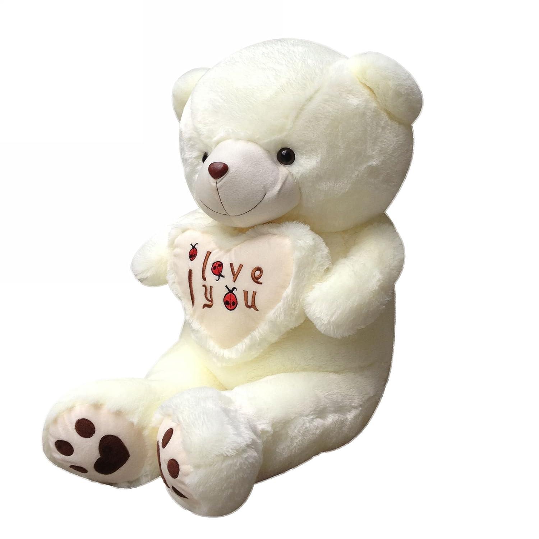 生日礼物 可爱 抱心熊love熊 泰迪熊 公仔 布娃娃 情侣娃娃 毛绒玩具