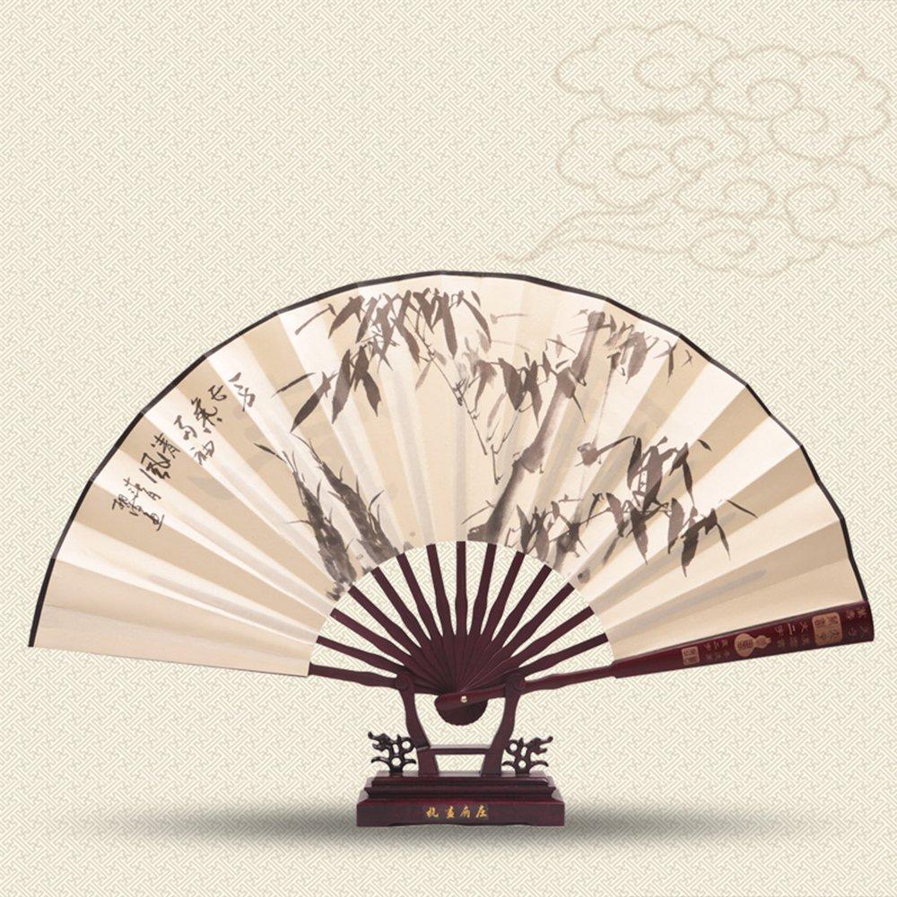中国风扇子画图片