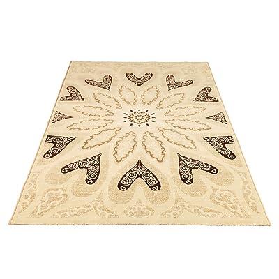 欧式简约现代客厅茶几卧室地毯
