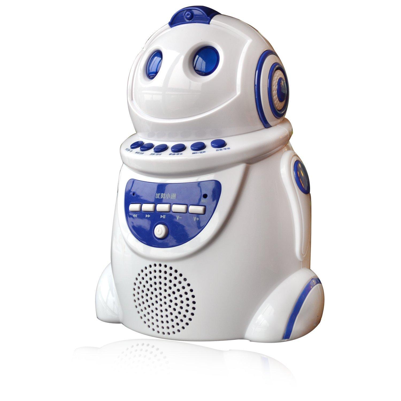 优教小通 全声控智能小通早教机器人第2代(白色)
