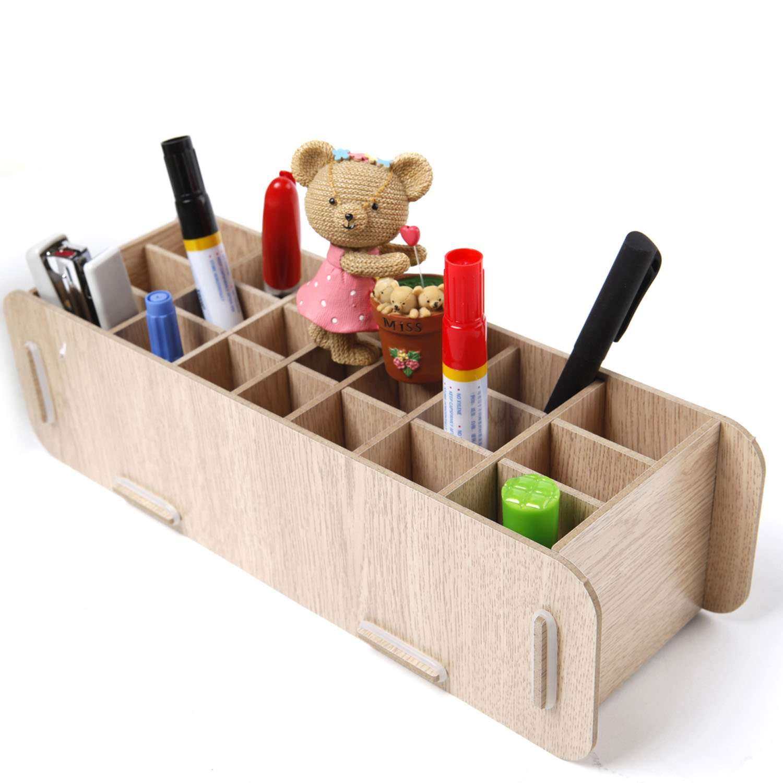 木头diy手工制作笔筒