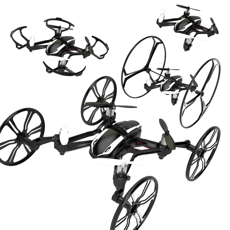 优迪ufo四轴飞行器遥控飞机直升机(航拍4通道陀螺仪4合1变形功能)u941