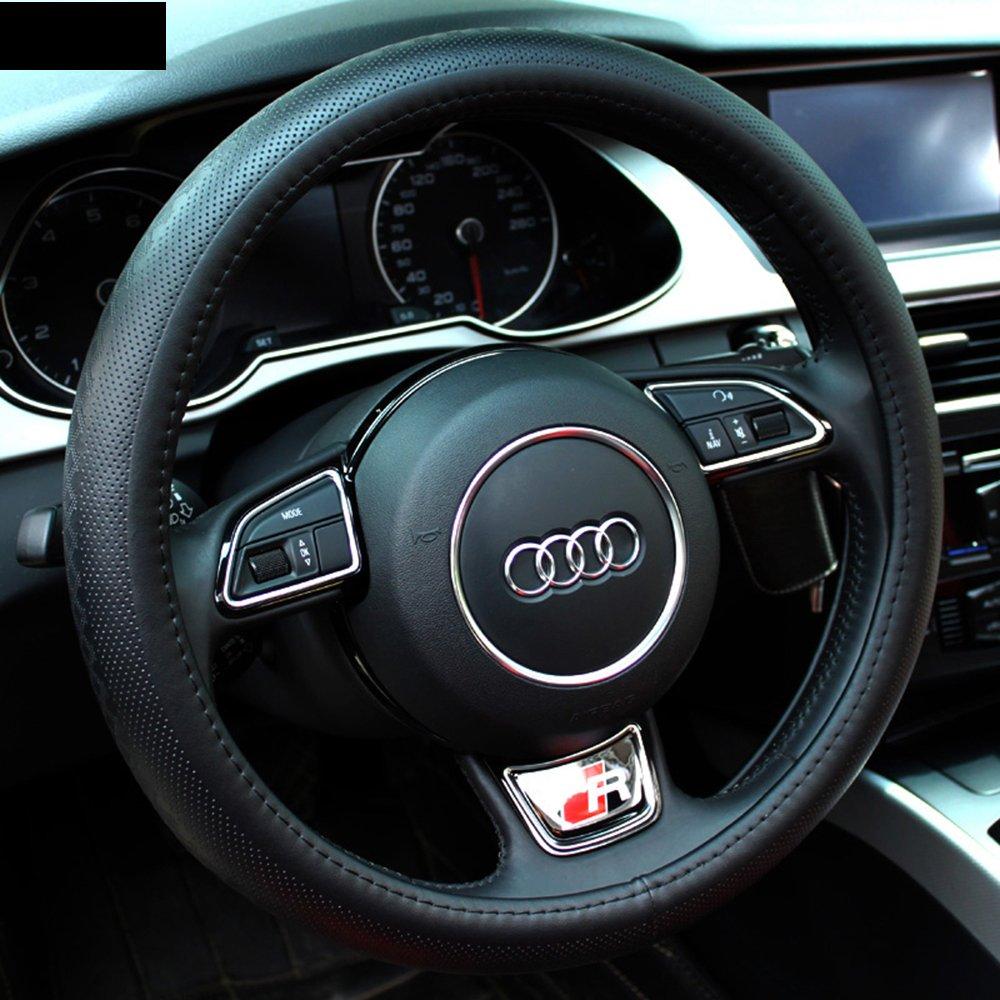 路尔卡 2015款汽车把套真皮方向盘套 大众朗境 新途观 新帕萨特 朗逸