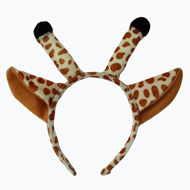 欢乐派对 儿童表演演出头饰道具动物头饰道具长颈鹿头饰头箍发箍发卡