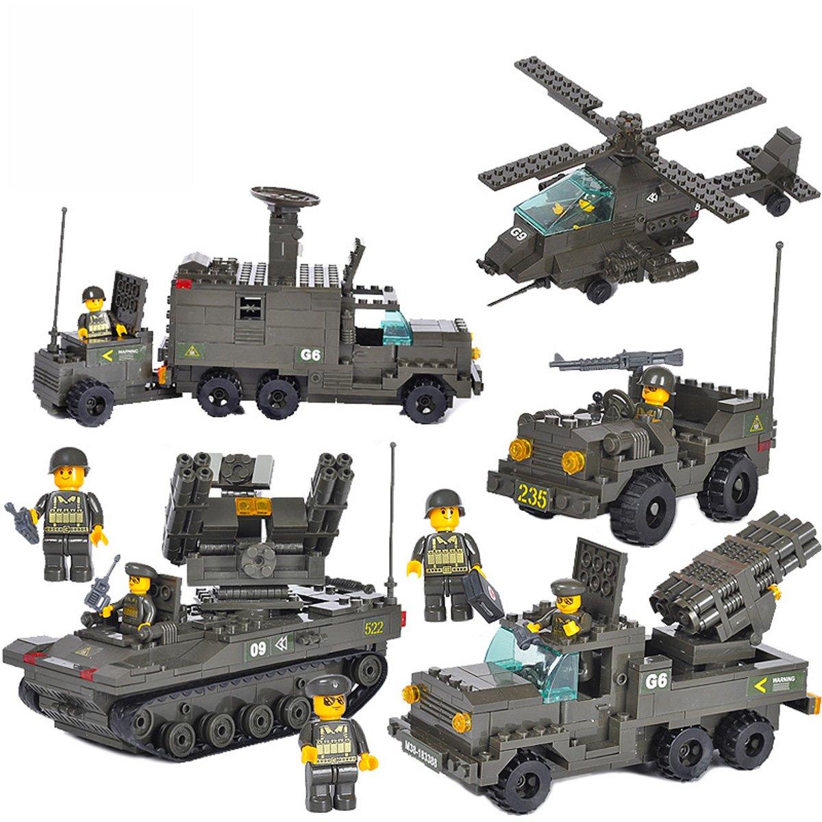 SLUBAN小鲁班v玩具玩具乐高式家具拼装图纸心中军事式积木图片