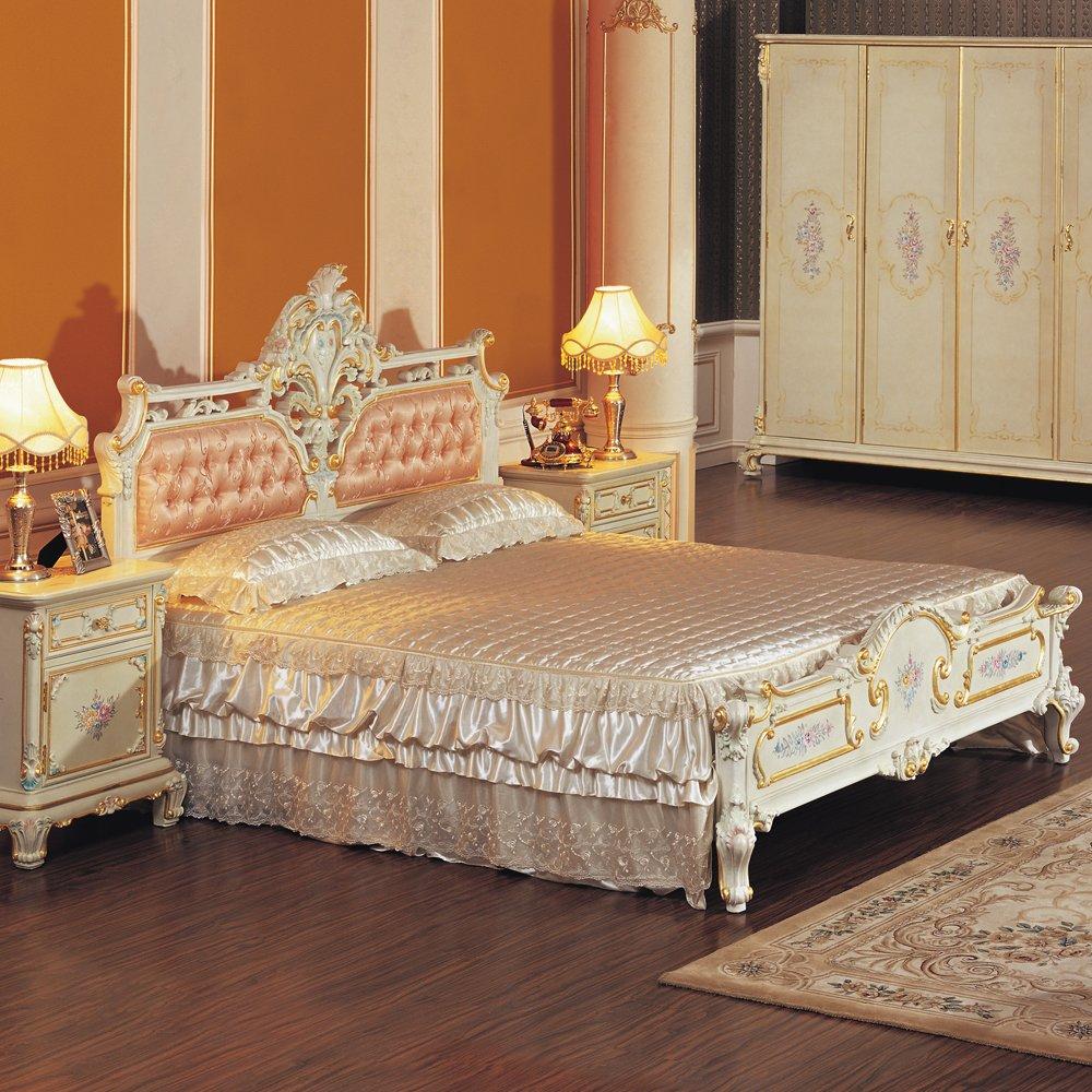 fp 沛俪菲帕 奢华 浪漫古典家具 意大利风格 欧式古典 2k33床架