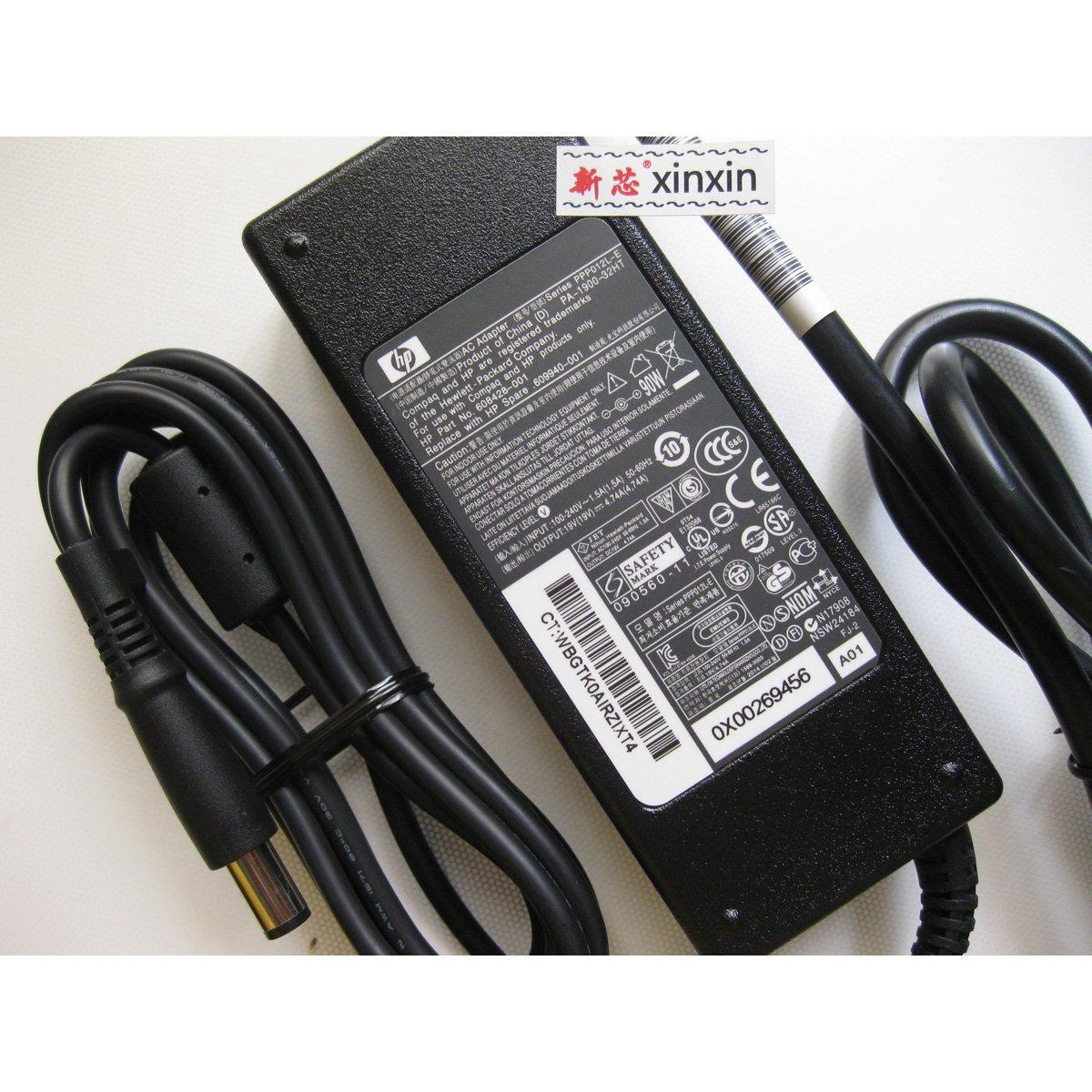 新芯/hp/惠普-促销新款原装hp电源90w笔记本适配器 p.