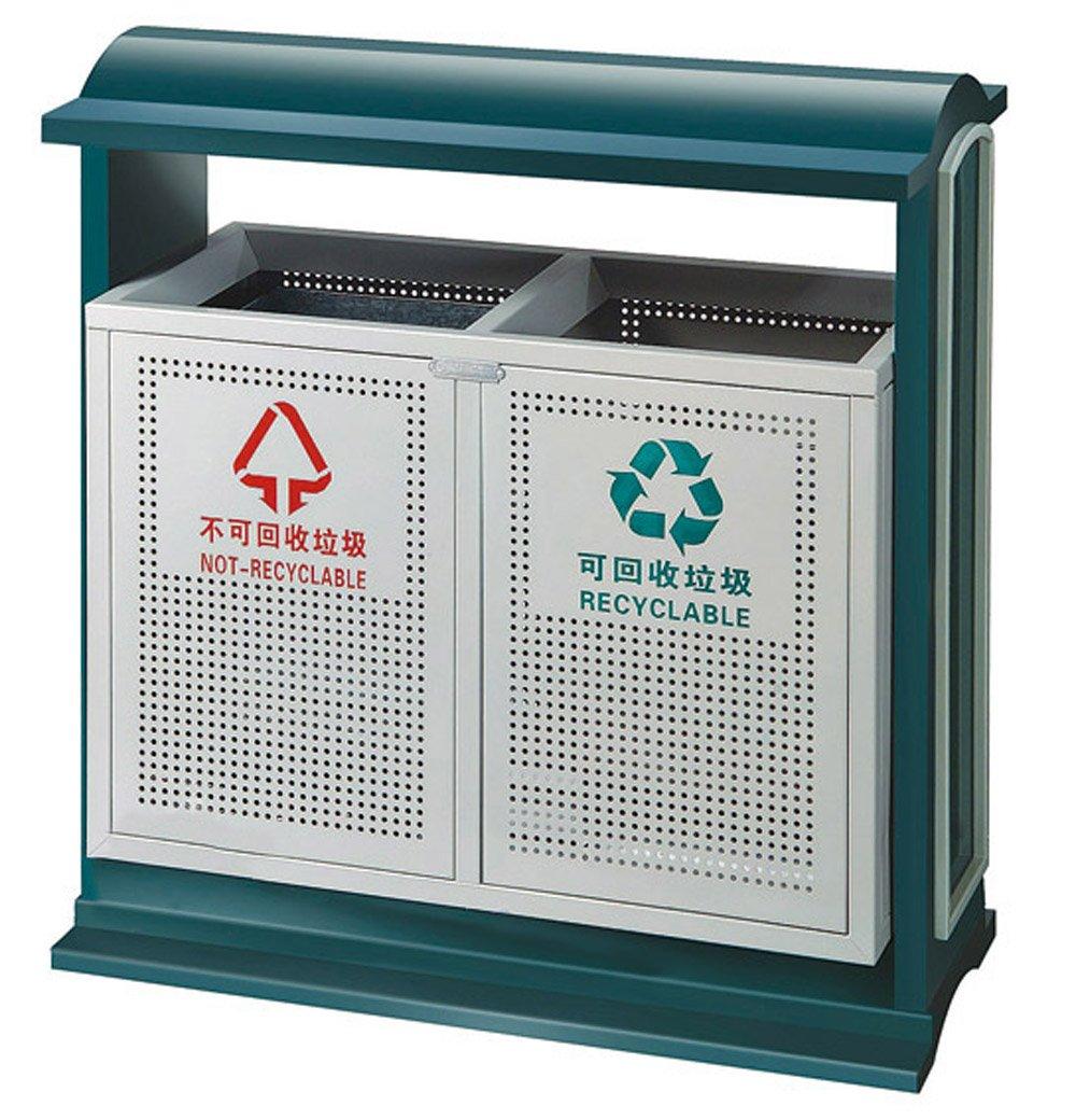 南方 户外垃圾桶 分类垃圾桶 公用可回收垃圾筒 金属垃圾桶 分类垃圾