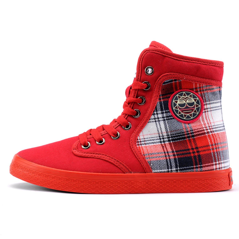 新款潮鞋韩版女帆布鞋保暖时尚休闲鞋高帮