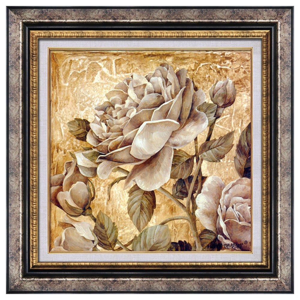 晶典 美式装饰画客厅现代餐厅卧室床头沙发背景墙画玄关挂画3059 有框图片