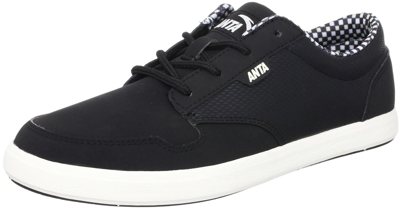 anta 安踏 滑板 男 板鞋 黑色/象牙灰 40 61242080-3